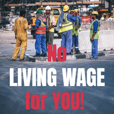 living wage corporate america